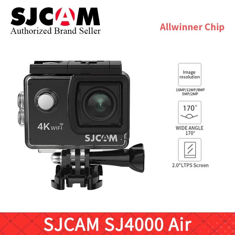 Original SJCAM SJ4000 AIR WIFI Action Camera Full HD Yi 4K Sports DV 2.0 Inch Waterproof Mini Helmet Camcorder