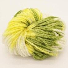 Hand Knitting Yarn Thick Scarf Yarn Segment Dye Yarn For Hand Knitting Wool Yarn Crochet Needles