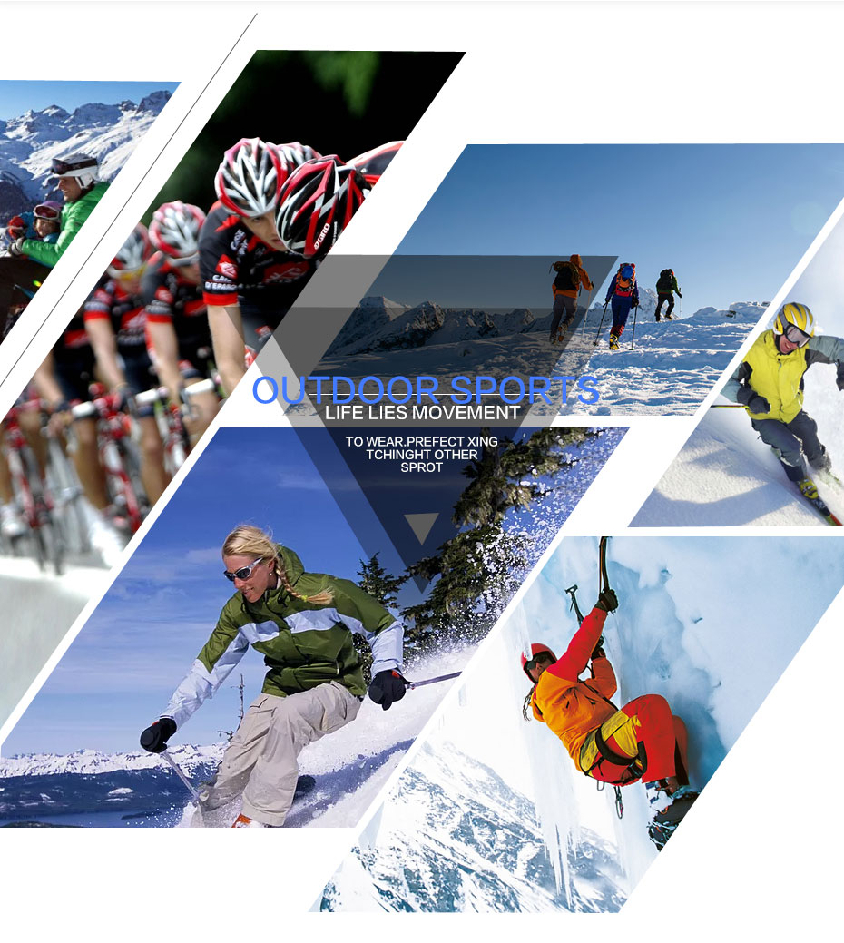 Mulheres luvas de esqui snowboard snowmobile motocicleta