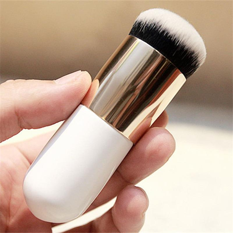 1PC New Two colors Explosion models chubby pier foundation brush flat cream makeup brushes Professional  Cosmetic Make-up Brush