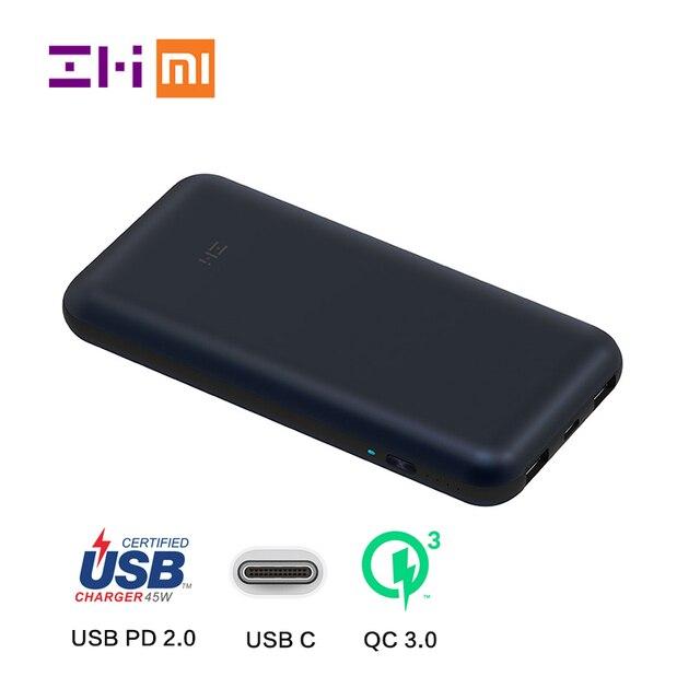 Xiaomi zmi 20000mah usb c power bank quick charge qc30 usb pd 20 xiaomi zmi 20000mah usb c power bank quick charge qc30 usb pd 20 sciox Gallery