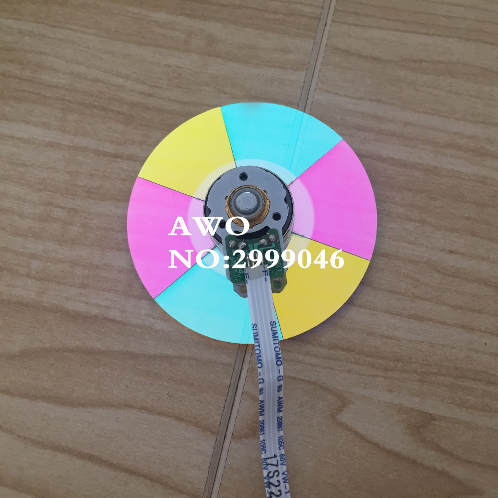 NEW Original REPLACEMENT Projector color wheel For BENQ W1070 W1080ST+ W1075 W1070-V W1085 VH570 VH580ST W20AA DLP Projector new original dlp projector colour color wheel model for benq mp770 color wheel