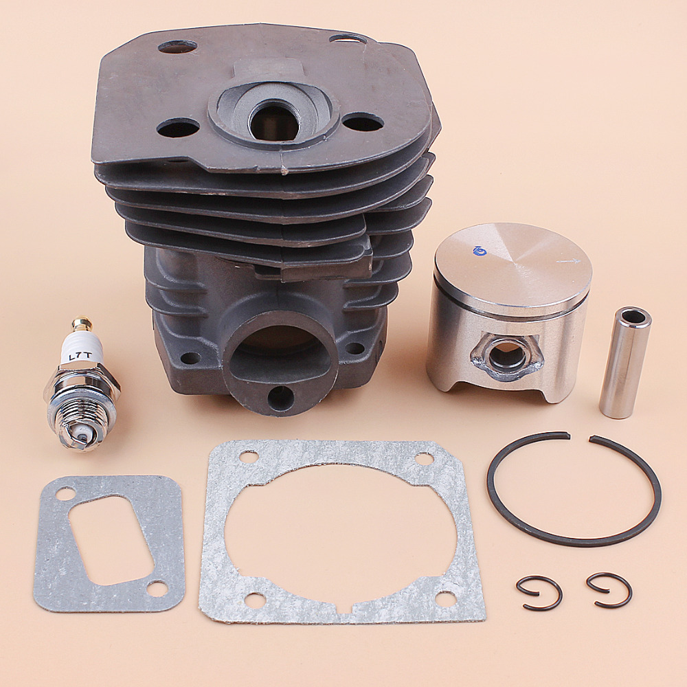 44mm Cylinder Head Piston Gasket Kit For HUSQVARNA 350 351 353 345 340 346XP Chainsaw Engine Motor Rebuild Kit OEM 537253002
