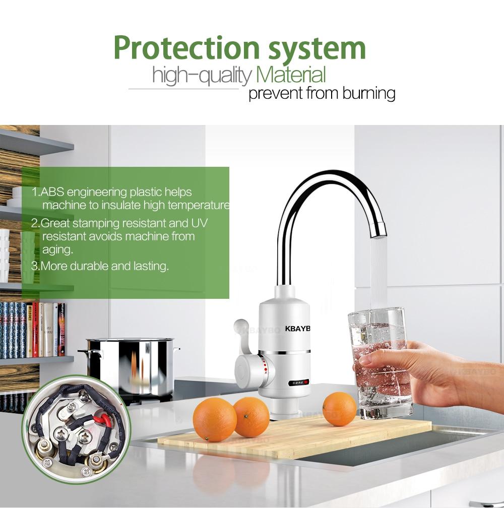 3000 w instantan sans r servoir chauffe eau lectrique - Chauffe eau electrique cuisine ...