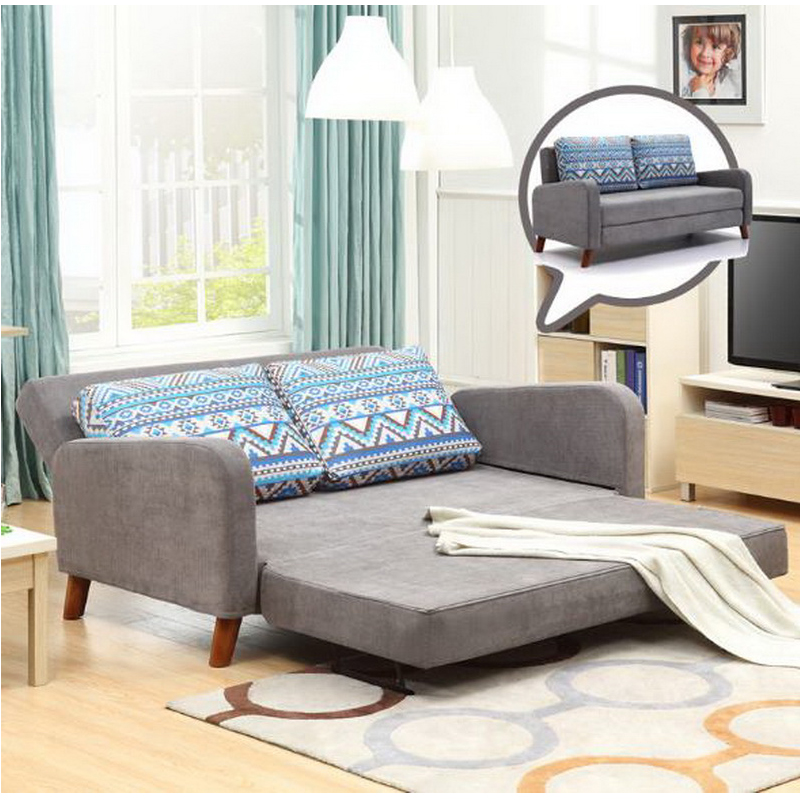 260309/1.7 m Home multi-function sofa / foldable double use sofa /High foam foam sponge/Comfortable pillow