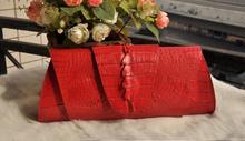 100% genuine crocodile leather skin wallets and purse alligator skin wallets women clutch