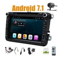 Android 9. 0 HD1024*600 CarDVD Player Radio For VW Polo Jetta Tiguan passat b6 cc fabiaWIFI GPS Navigation Head Unit 2din 2GRAM