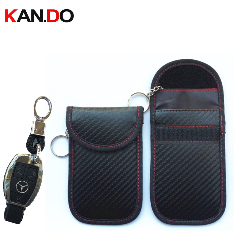 New 2019 Car Key Remote Jammer Bag Card Anti-Scan Sleeve Bag Signal Blocker Jamming Bag For Car Key Security