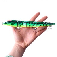 Fishing Lure Pesca Artificial Trout Trolling Baits Jointed Lure Bionic Bait Tuna Bass Pike 23cm 46g 2pcs Sea Fishing Tackle