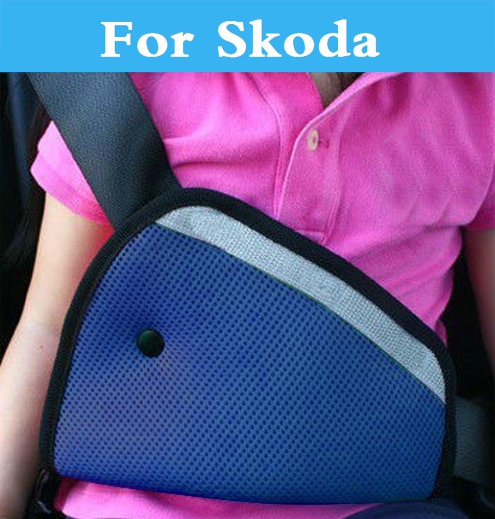 Car Seat Belt Children Safety Protector Cover Clip Strap Pad For Skoda Octavia Citigo Fabia RS Octavia RS Rapid Superb Yeti