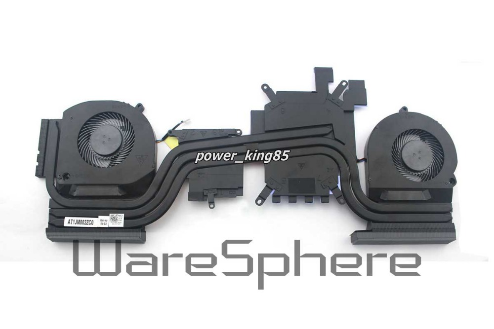 CPU Heatsink and Fan for Dell Alienware 15 R3 7FRVC 07FRVC for dell xps m1730 cpu fan ww425 dfs651712mc0t fag6 fan