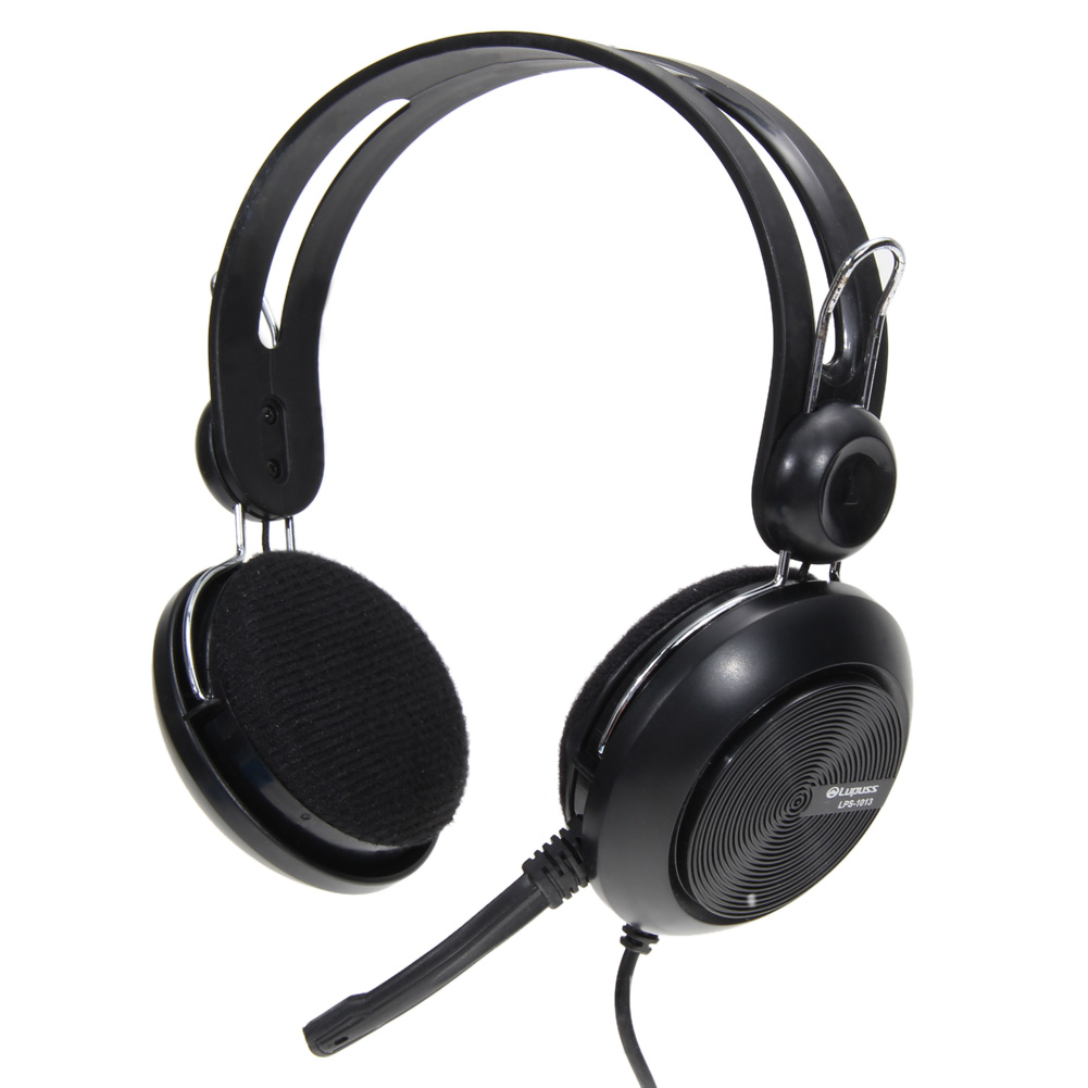 3.5mm Plug Wired Gamer Headset Universal Video Games Stereo Classic Headphone with Microphone for Computer for Internet Bar rock y10 stereo headphone earphone microphone stereo bass wired headset for music computer game with mic