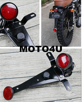 Motorcycle custom classic LED tail light rear light brake light stoplight stop lamp brake light with bracket ECE Cafe racer Мотоцикл