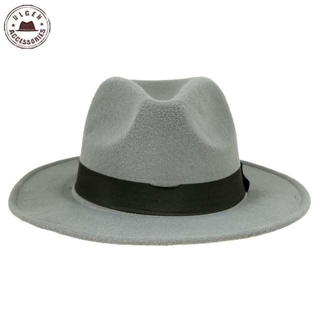 placeholder Hot sale cheap unisex wool Jazz hats mens fedora hat women felt  hat cowboy panama hats 122f2ee6395