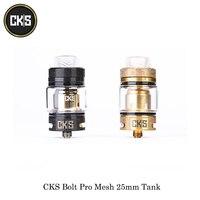 electronic cigarettes CKS Bolt Pro Mesh 25mm Tank Atomizer 6ML Capacity Bottom Airflow Fit CKS THNDR 240W Box Mod Vape Vaporizer
