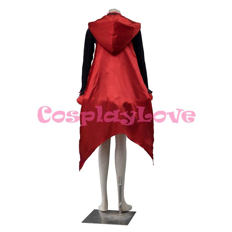 Բարձրորակ RWBY Red Trailer Ruby Rose Cosplay Costume RWBY - Կարնավալային հագուստները - Լուսանկար 4
