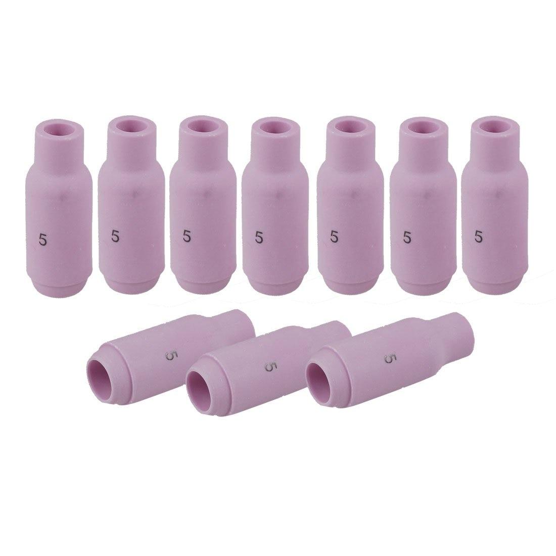 IMC Hot 10 Pcs #5 10N49 TIG Torch Welding Ceramic Nozzles For Legacy LS17 LS17V
