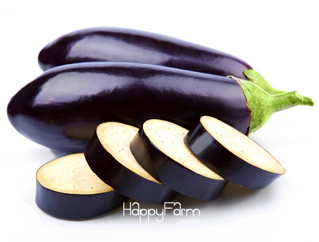 delicious Purple Eggplant Seeds Vegetable seeds  for Home Garden