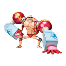 купить Anime Cartoon One piece zero Two 2 Years Later New World Franky Action Figure по цене 165 рублей