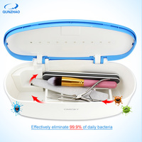 UV LED Nail Sterilizer For Manicure Instruments Nail Tools Disinfection Nail Nipper Tweezers Metal Plastic Disinfector Box