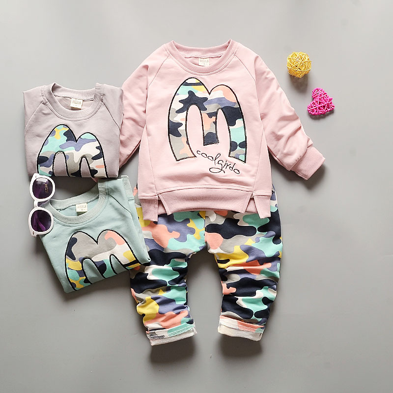 Advice 0-3Years Toddler Boys Clothing Suits Camuflage Casual Clothes Set Long Sleeve Shirt +Loose Pants 2pcs Tracksuits Roupa Menino Comparison