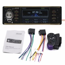 Bluetooth 4-Inch HD Display Car MP5 Player Car Parking Assistance System Music Player Support TF Card FM Radio Hands-free Calls