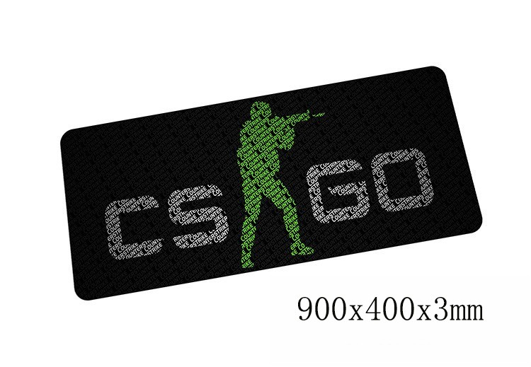 cs go mouse pads locked edge pad to mouse notbook computer mousepad 900x400x3mm gaming padmouse gamer Fashion keyboard mouse mat