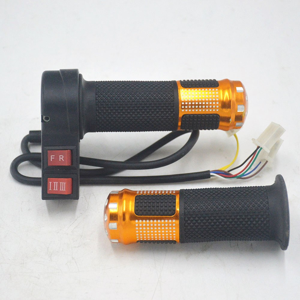 24V/36V/48V/64V/72V/96V electric bicycle throttle with 3 speed controller and forward reverse for ebike/scooter/tricycle24V/36V/48V/64V/72V/96V electric bicycle throttle with 3 speed controller and forward reverse for ebike/scooter/tricycle
