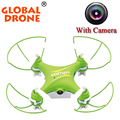 Global Drone GW009C 4 ch 2.4 Г мини rc беспилотный мини дроны toys маленький беспилотный дистанционного управления мини дрон с камерой