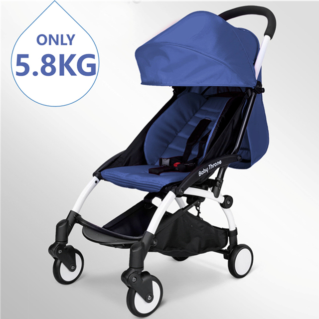 Lightweight Pushchair Fancy Hot Mom Travel Baby Stroller Portable babycar Prams black blue pink purple colors