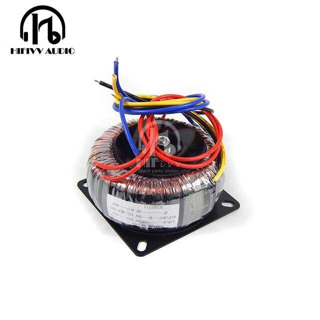 US $21 0 |HIFivv audio copper toroidal transformer circular transformer  power amplifier dedicated transformer 40w Output 30 0 30V 9V-in Amplifier  from