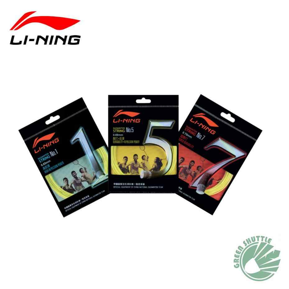 2016 Genuine Lining Badminton String of China National Team Durability Repulsion Power Li-Ning Badminton Racket String No.1/5/7