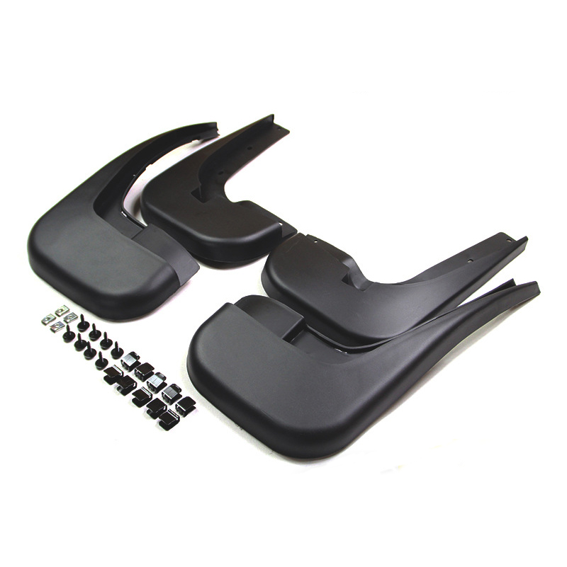 Front /& Rear Mud Flaps Bodywork Protection Guard Anti Scuff For Mercedes