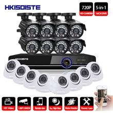 16CH DVR 1080P HDMI CCTV System Video Recorder 16PCS 2000TVL Home Security Waterproof Night Vision Camera Surveillance Kits