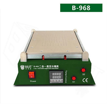 BEST-968 2 in 1 vacuum LCD screen separator laminating separator ipad phone large screen split