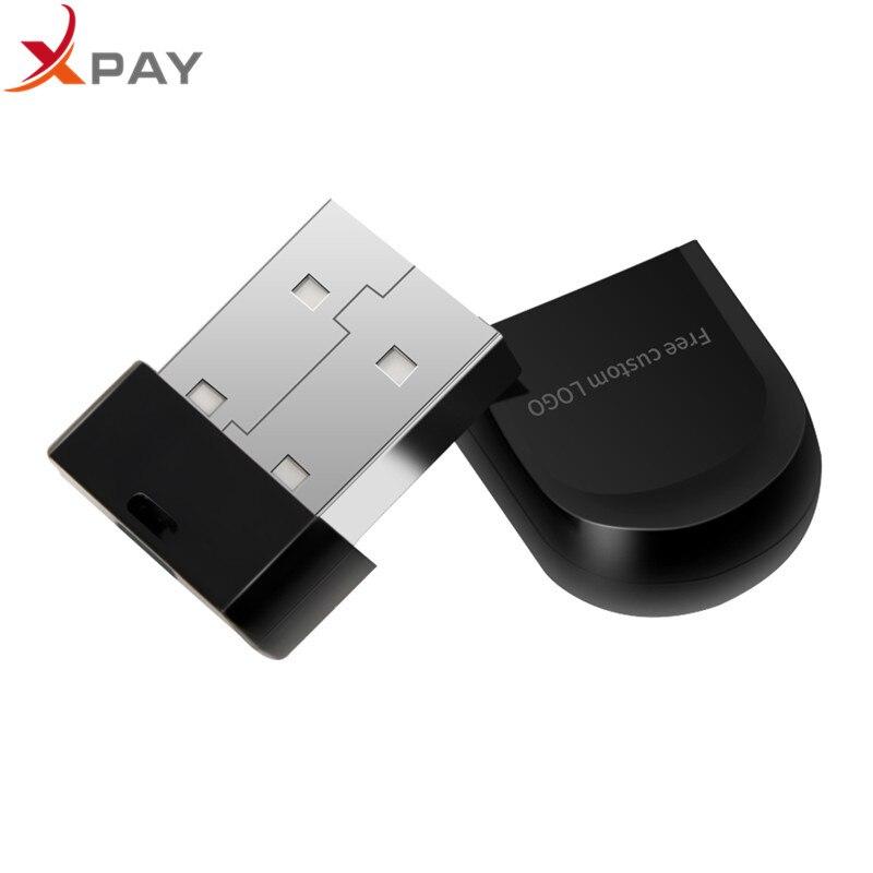 New 2019 super mini plastic usb flash drive 2.0 32GB usb stick black 4GB 8GB 16GB 64GB high quality pen drive 128GB Free LOGO-in USB Flash Drives from Computer & Office