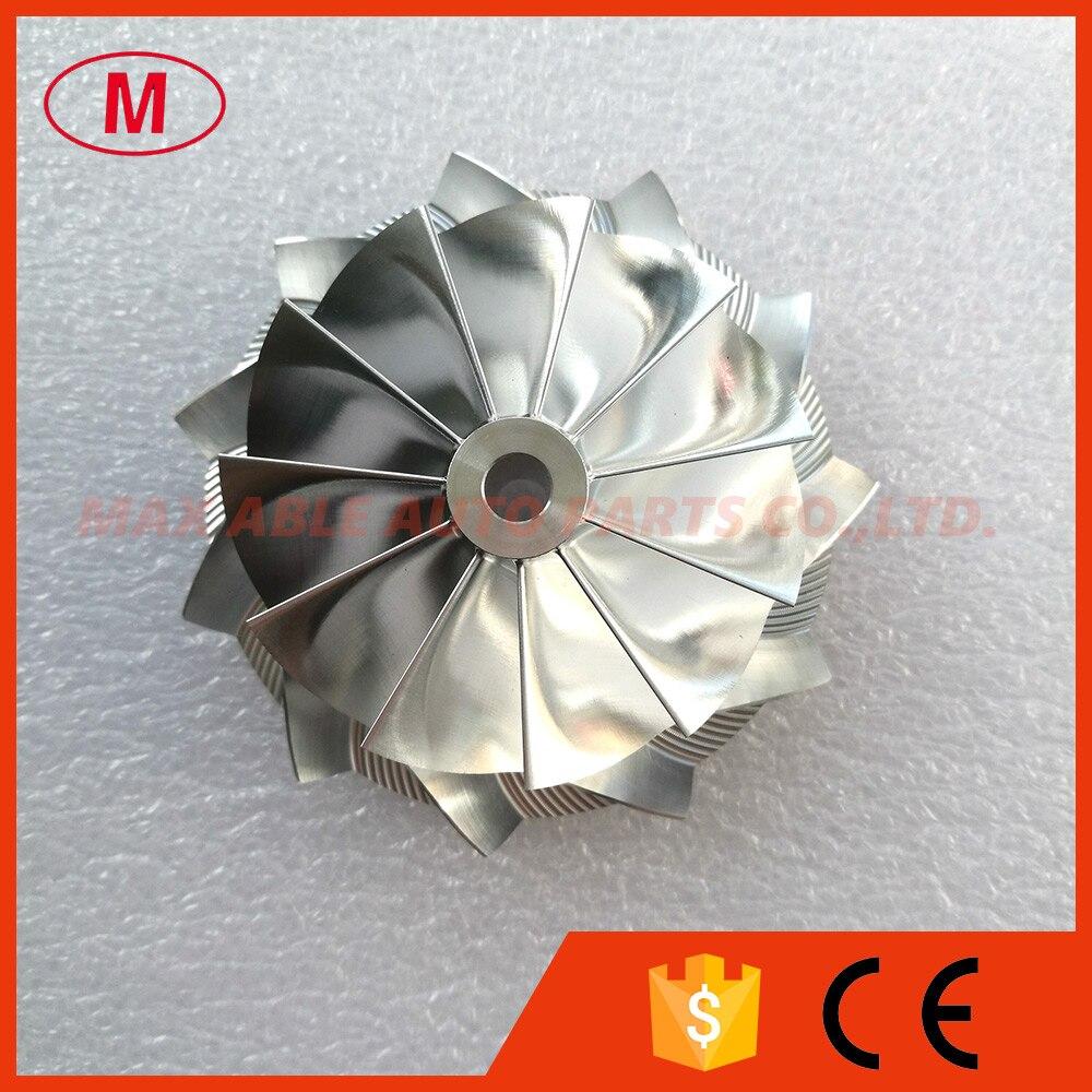 TD05H 59 05x76 13mm 11 0 blades Turbo Billet compressor wheel Turbocharger Aluminum 2618 Milling compressor