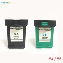 einkshop 94 95 Compatible Ink Cartridge Replacement for hp Deskjet 5740 6520 6540 6620 PhotoSmart 2610 2710 printer