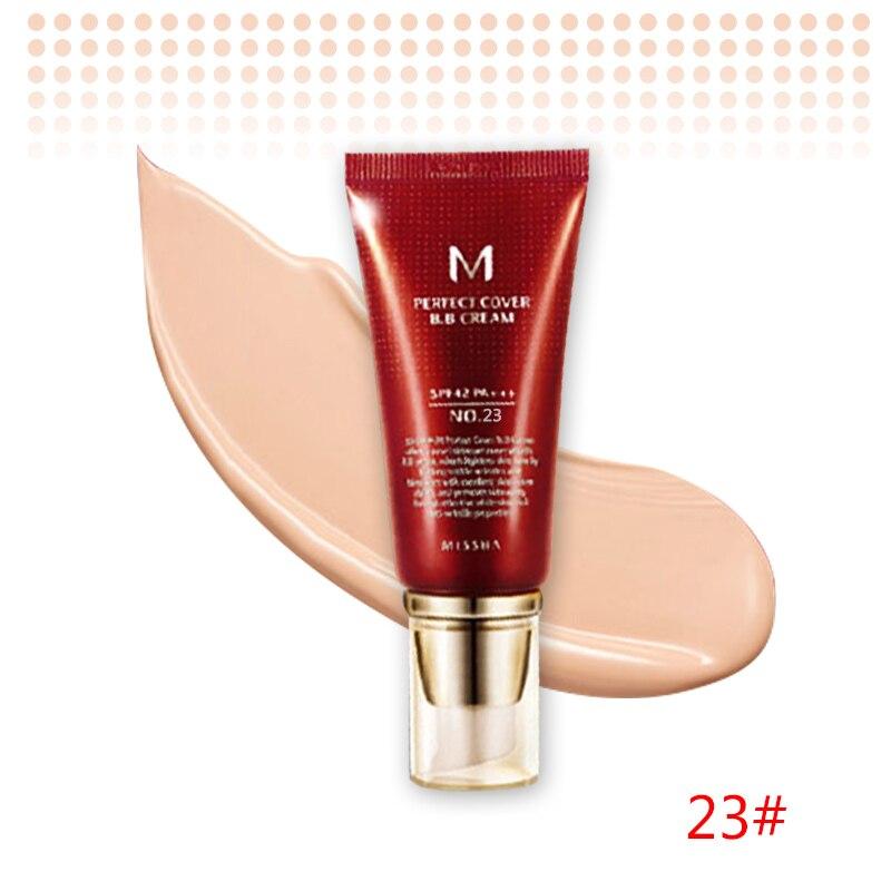 Оригинальная корейская косметика MISSHA M идеальное покрытие BB крем 50 мл SPF42 PA+++(#13,#21,#23,#31) тональный крем для макияжа CC Cream - Цвет: NO.23 Natural Beige