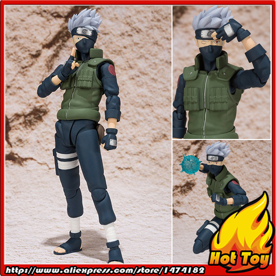100% Original BANDAI Tamashii Nations S.H.Figuarts (SHF) Exclusive Action Figure - Hatake Kakashi from