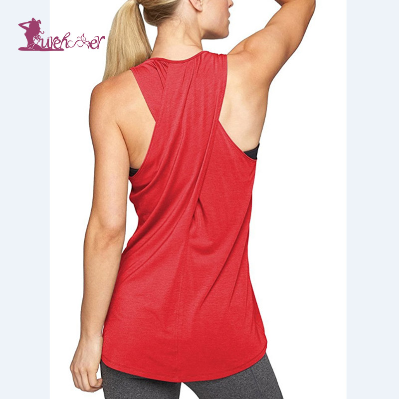 Lurehooker Yoga Top Gym Sports Vest Sleeveless Shirts Women Running Clothes Womens Shirt Fitness Clothing Solid