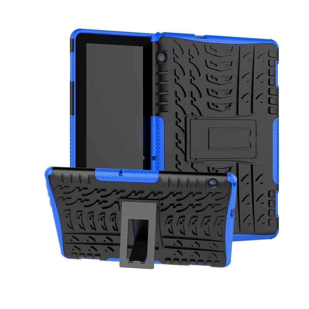 Funda para tableta resistente híbrida 2 en 1 resistente y duradera para Huawei MediaPad T5 10 AGS2-W09/L09/L03/W19 10,1 pulgadas cubierta + pluma