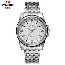 Hot Relógios dos homens de Negócios de Quartzo de Japão relógios Masculino 30 M À Prova D' Água 304 tira de Aço Relógio de Diamantes de Moda Homem relógio de Pulso Relogio
