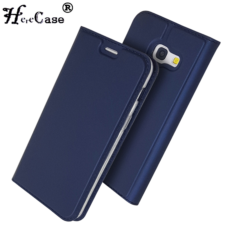 Flip Case For Samsung Galaxy A5 2015 A500 2016 A510 2017 A520f Fundas Wallet Style Protective Leather Cover Card Slots Kickstand Cellphones & Telecommunications Phone Bags & Cases