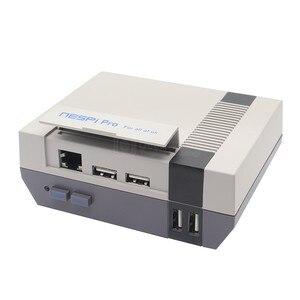 Image 2 - Yeni Ahududu Pi 3 B + (Artı) NESPi Pro RTC ile NES FS Stil Oyun Konsolu