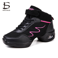 New Sports Air Mesh Soft Outsole Breath Dance Shoes Sneakers For Woman Practice Shoes Modern Dance