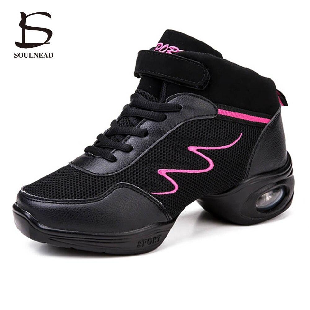 malla de aire suave suela danza breath zapatos sneakers mujer