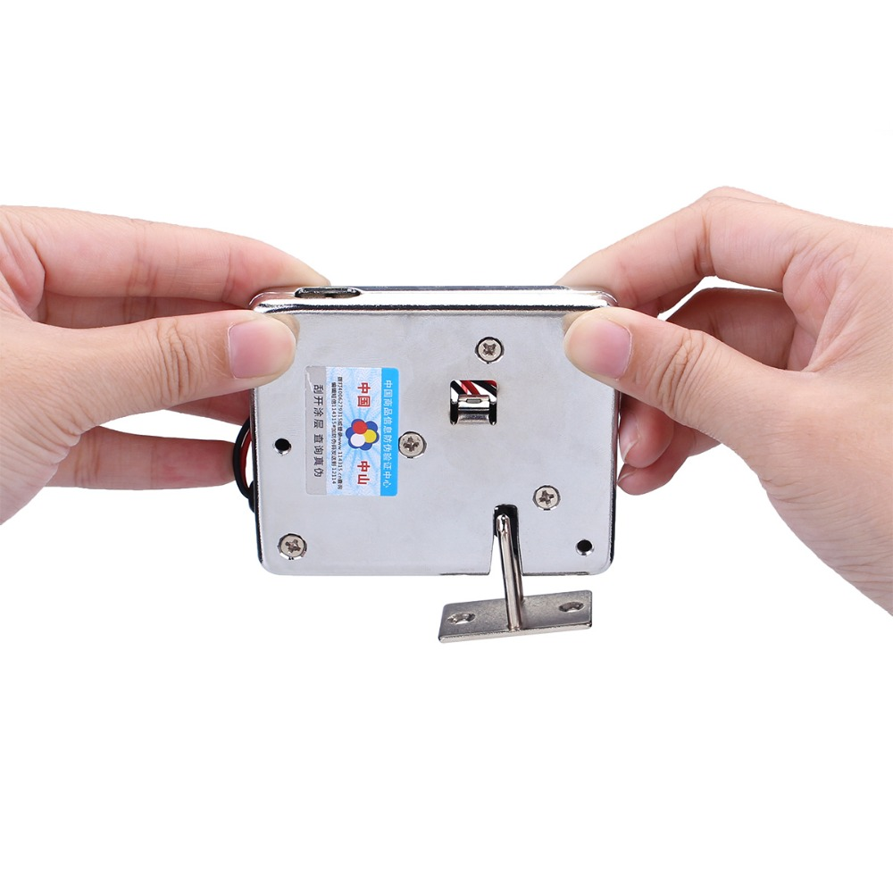 New DC12V Electronic Cabinet Door Lock Small Electric Lock Bolt Lock for All kinds of doors, windows, boxes, cabinetslNew DC12V Electronic Cabinet Door Lock Small Electric Lock Bolt Lock for All kinds of doors, windows, boxes, cabinetsl