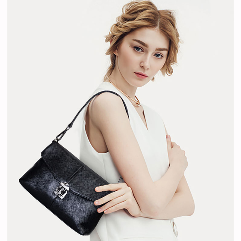 meigardass brand Hot sale genuine leather satchel leisure Clamshell genuine leather shoulder bags messenger bag genuine leather