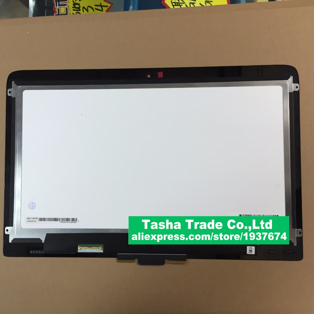 13.3 Free shipping wholesale assembly for HP Pavilion x360 13-S touch +LCD digitizer 1920*1080
